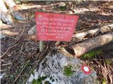 Razpotje Vragovec - Prešernova koča na Stolu