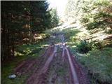 Razpotje Vragovec - lovska_koca_nad_doslovsko_planino
