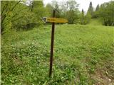Jezersko polje - pec_razgledisce