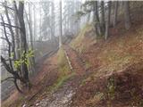 Povlje - gradisce_pustinjak