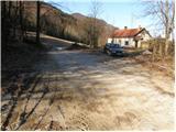 Črni vrh - Grom - Pirnatova koča na Javorniku