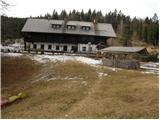 Partizanski dom na Vodiški planini