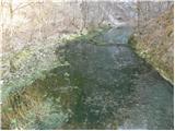Idrijca - divje_jezero