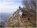 col - Sinji vrh