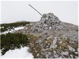 Planina Podvežak - deska_veza