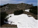 Planina pod Golico - klek