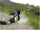 Planina Bistrica (Hutte Oisternig)