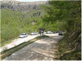 Koča na planini Stador - kobala