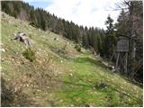 Bistriška planina - sentanski_vrh