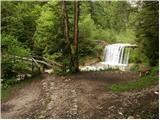 Gozd Martuljek - ingotova_koca_na_planini_jesenje