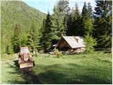 Ingotova koča na planini Jesenje