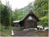 Ingotova koča na planini Jesenje mountain hut