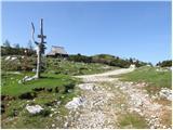 Planina Dol - gradisce_velika_planina