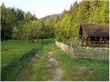 Bistra - Koča na Travniku