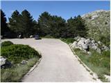 Parkirišče Biokovo - vosac