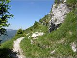 Bohinjsko sedlo - slatnik_severozahodni_vrh