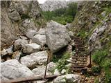 Koča pod slapom Rinka  - kamniska_koca_na_kamniskem_sedlu