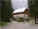 Aljažev dom v Vratih - rogljica