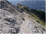 Ovčja vas / Valbruna - poldasnja_spica_jof_di_miezegnot