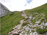 Jermanca - Kamniška koča na Kamniškem sedlu