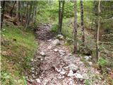 Dom v Kamniški Bistrici - brana
