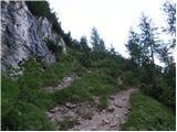 Belopeška jezera - Srednja Ponca