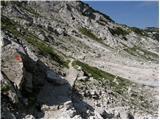 Rifugio Gilberti - Velika Bavha / Monte Robon