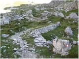 Rifugio Selvapiana I.Lunelli - croda_sora_i_colesei___arzalpenkopf
