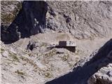 Aljažev dom v Vratih - kanjavec