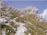 Planina Kuk - vrh_planje_nad_globokim
