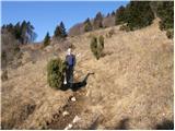 stomaz - Koča Antona Bavčerja na Čavnu mountain hut