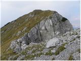 Tolsta Košuta - Zahodni vrh