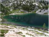 The lake Jezero v Ledvicah