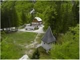 Aljažev dom v Vratih mountain hut