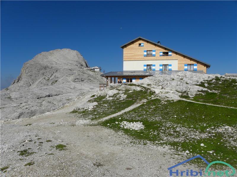 San Martino - Cima Vezzana (mimo Rifugio Rosetta) - Slika ... Rosetta