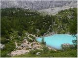 Lago di Sorapiss / Rifugio Vandelli