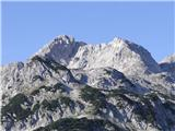 Jutranji pogled na Podrto goro od Doma na Komni