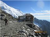 Mont Blanc / Monte BiancoTete Rousse v ponedeljk popoldan ...