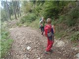Kriška goraDobro znana pot na Kriško goro