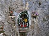 Kapelica pri Mariji pod Srebotnikom