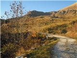 popoldansko sonce na planinah