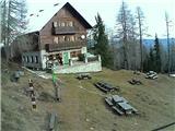 Snežne razmere 30.11.2016Slika spletne kamere pri Domu na Peci. Vir: http://www.pdmezica.si/spletna_kamera_peca.htm