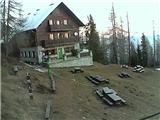 Snežne razmere 5.12.2016Slika spletne kamere pri Domu na Peci. Vir: http://www.pdmezica.si/spletna_kamera_peca.htm