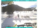 Snežne razmere v gorah 17.2.2017Slika spletne kamere na Soriški planini. Vir: http://www.litostrojska-koca.si