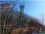 Anketa - Križna gora nad PodkrajemRazgledni stolp na Križni gori, slika je simbolična.