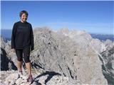 Jerca, Zahodni vrh Planjave (2394), za njim Grinta in Jezerska Kočna, desno Skuta z Rinkami