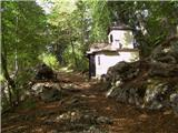 Murova (Jesenice) - kapelica_sv_barbare_na_pejcah