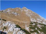 Creta di Rio Secco (2203)vrh je vse bližje