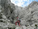 Bavarska v Steni IV+ 500m