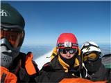 Mont Blanc / Monte BiancoIz desne proti levi: Roman S, Miha J., Jure G.